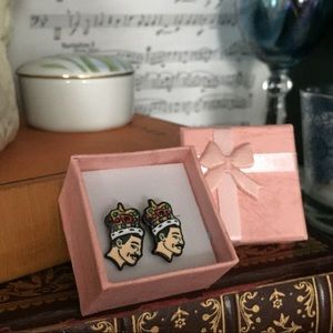 Jewelry - 👑Queen Freddie Mercury Earrings 👑 🎯 Last pair!!